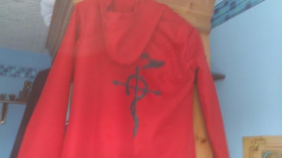 Edward Elric cloak/coat