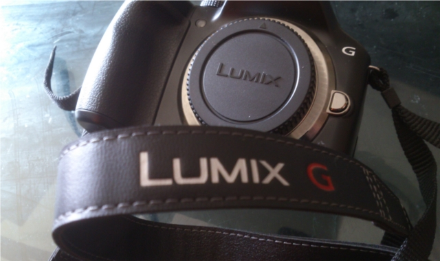 The standard strap that comes with the camera helps to keep the brand, if you're really into branding your stuff..!