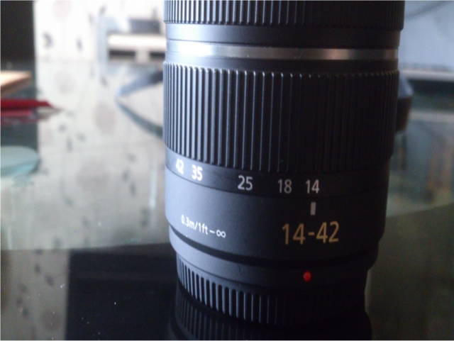 With a 14-42mm focal length, this really is ideal for closer pictures than it is for distance.