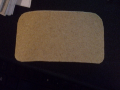 This is some simply cut Worbla which I will be using as part of my improved Edward Elric costume. DIY is fun!