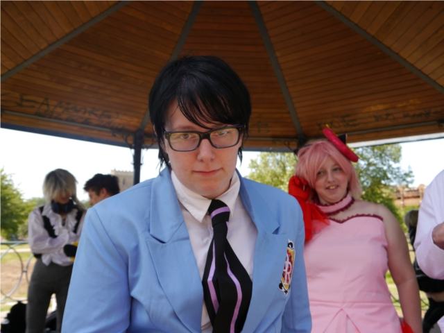 Like if you ever get stared down by a member of Ouran High School Host Club!