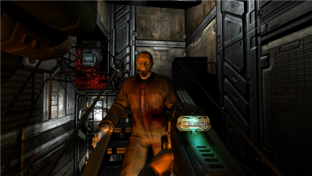 For visuals, let's look quickly at Doom 3
