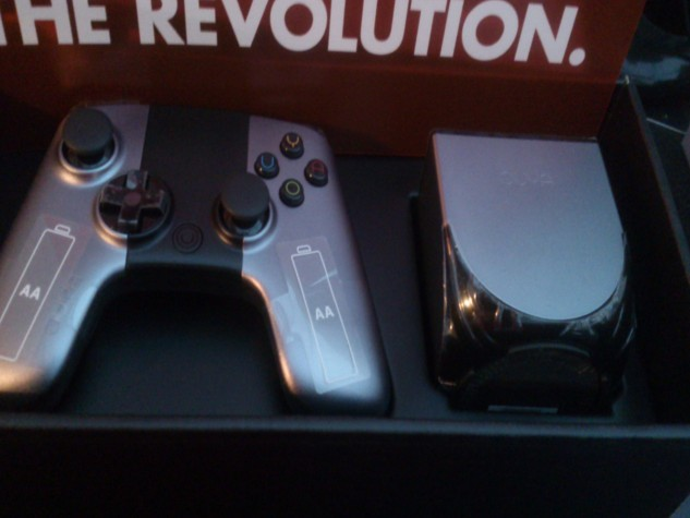 There's our console at last