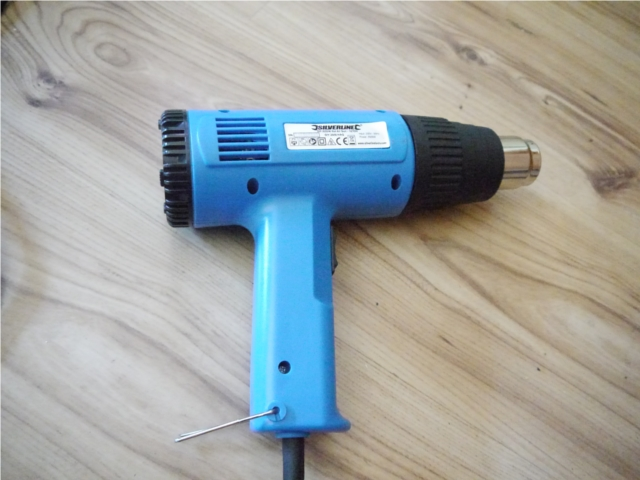Tool of choice heatgun