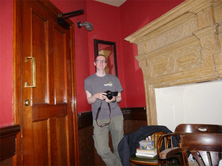 One of our newest members who also happened to have a really nice camera. Still, he didn't expect this..!