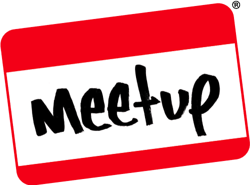 Click the logo to be taken to our Meetup page!