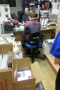 Even Spider-Man needs to pay the bills.