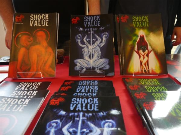 Shock Value comics
