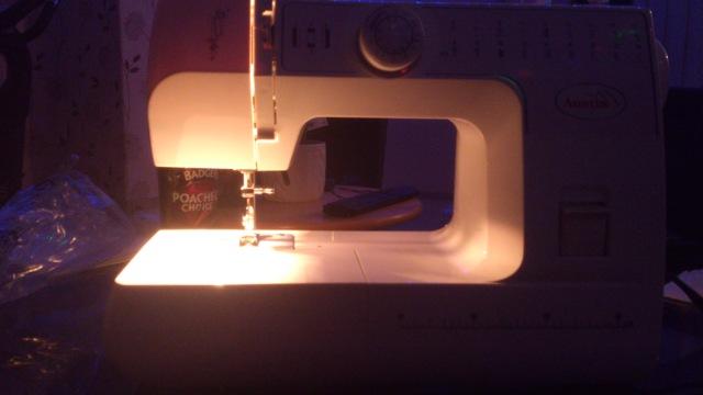 Yep, this is my sewing machine.