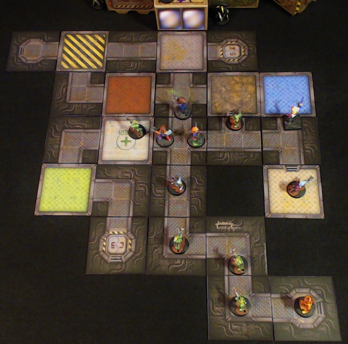 Kickstarter Highlight – Tabletop Towns Sci-Fi Tiles