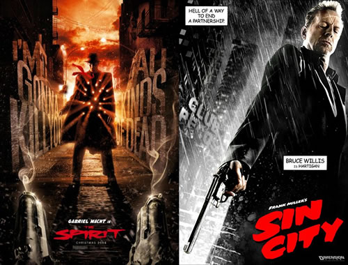 Sin City vs. TheSpirit