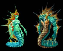 Merfolk4Naga_female_and_male