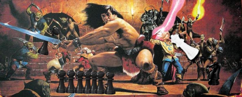 Chess vs Hero Quest