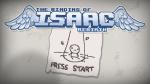 Binding of Isaac start