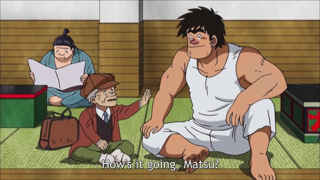 Old Man Ritsu