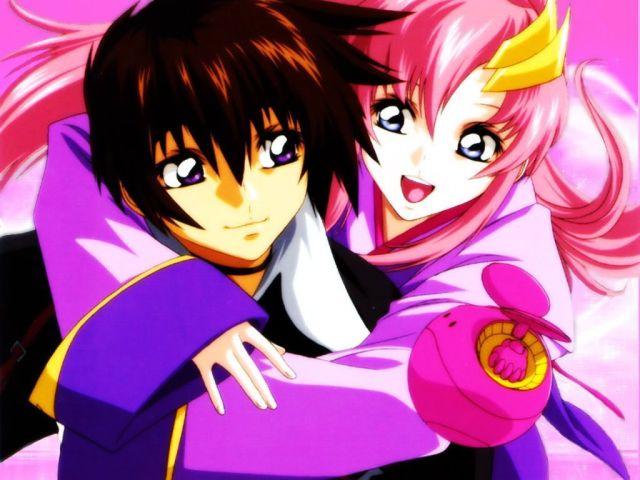 Kira Yamato & Lacus Clyne