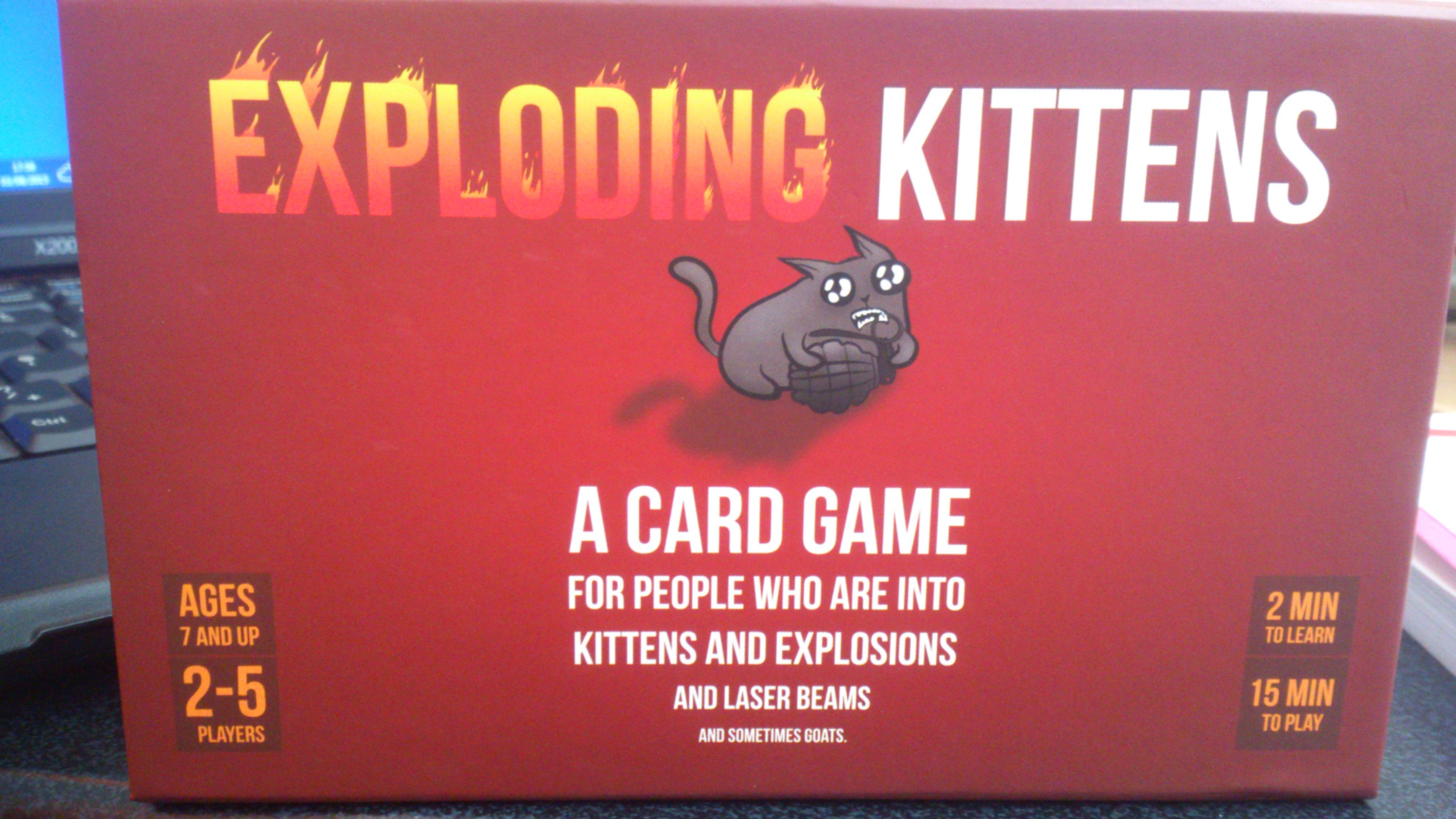 Exploding kittens nsf rules
