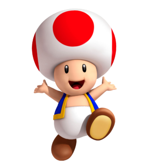 Toad_3D_Land Mario