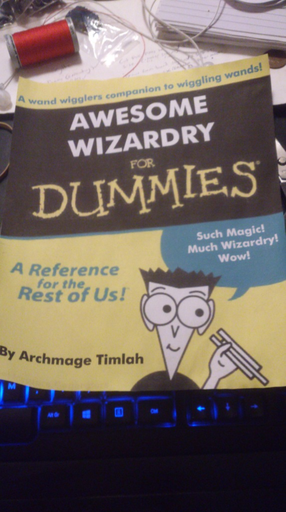 A book for all budding wizards