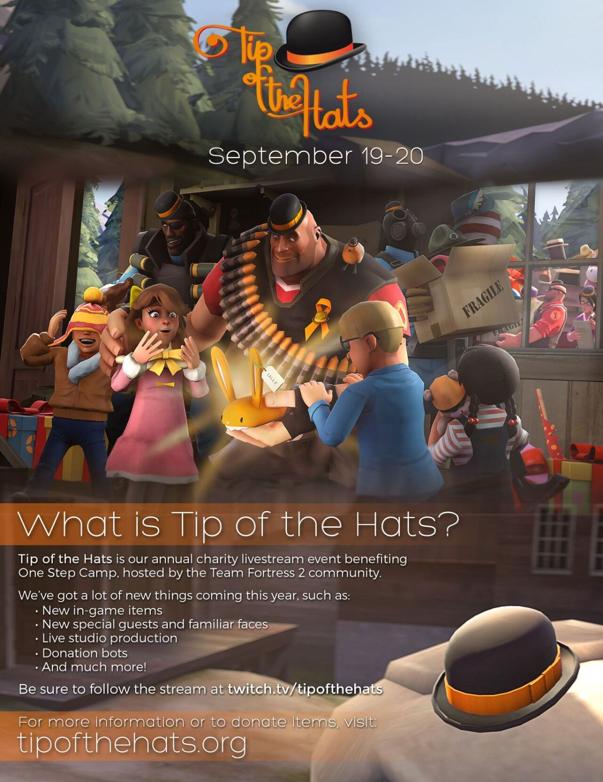 Tip of The Hats, TF2 Charity Event