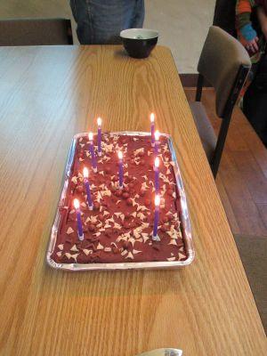 e-Collectica's birthday cake