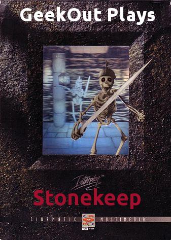GeekOut Plays Stonekeep Logo