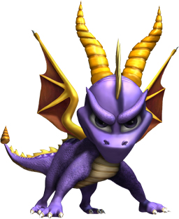 Spyro was one of the many PS1 games that was incredibly popular but minus multiplayer functionality.
