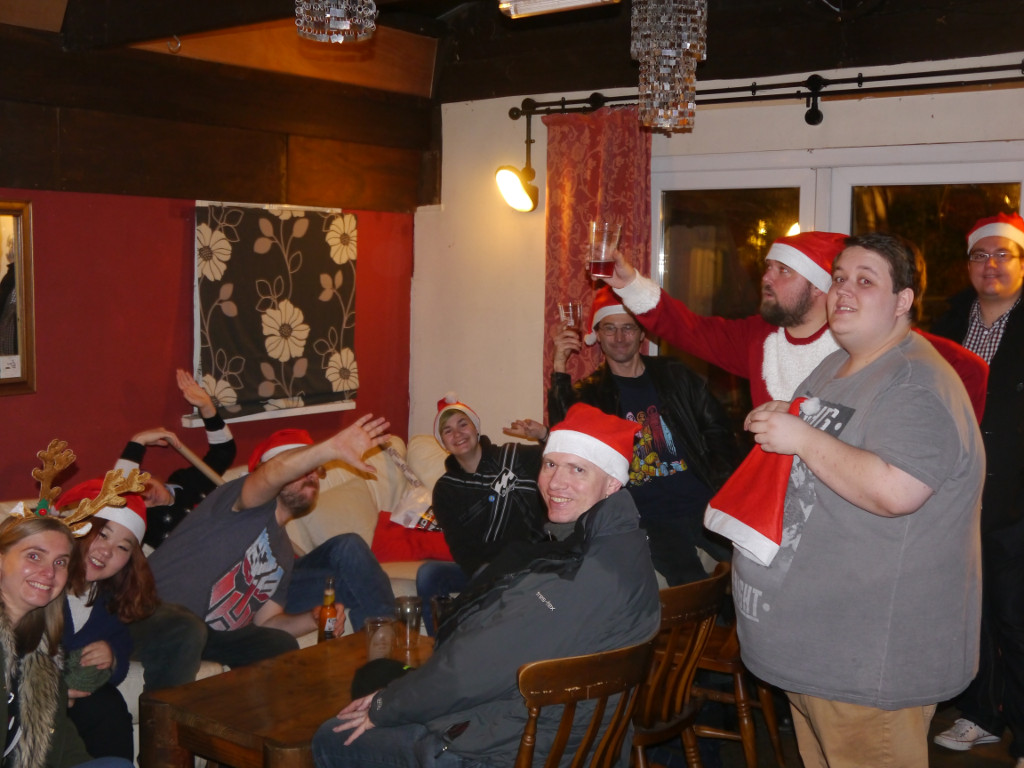 GeekOut Bristol Meet – December 10th: MERRY GEEKMAS!