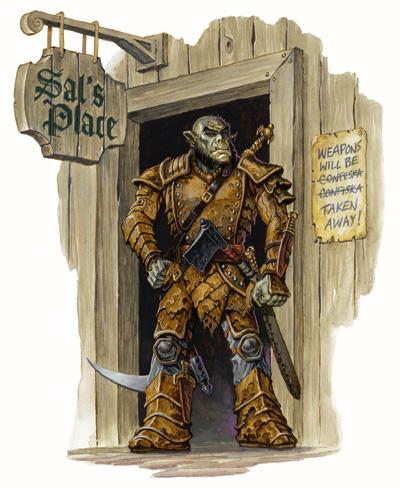 Half-Orcs are stoopid
