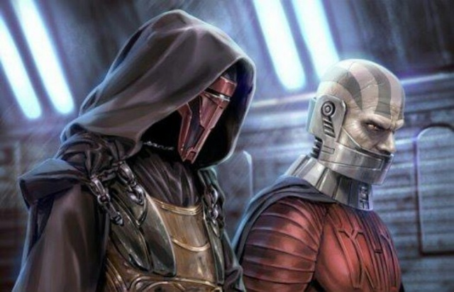 No one has turned to and back from the Dark Side as many times as dear old Revan! He turns more times than WWE stars!