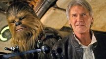 Han Solo with animal companion - Star Wars