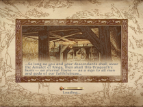 Loading screens are descripting, encouraging you to read the story.