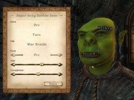 I think I'll go Orc!