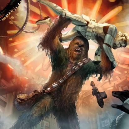 Wookie smash!!