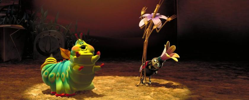 A BUG'S LIFE, Heimlich, Slim, and Francis, 1998. (c)Walt Disney Co.