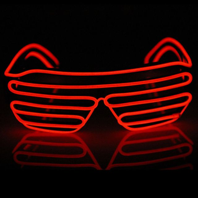 Red LED Glasses