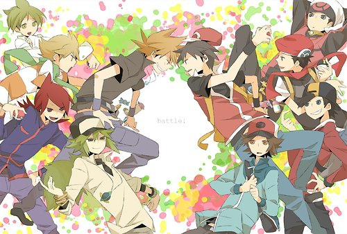 Pokemon Rivals and Pokemon Protagonists
