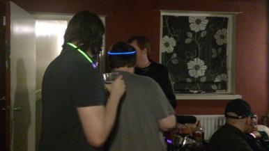 Geeks love glow sticks, it would seem!