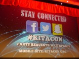 How to stay connected #Kitacon!