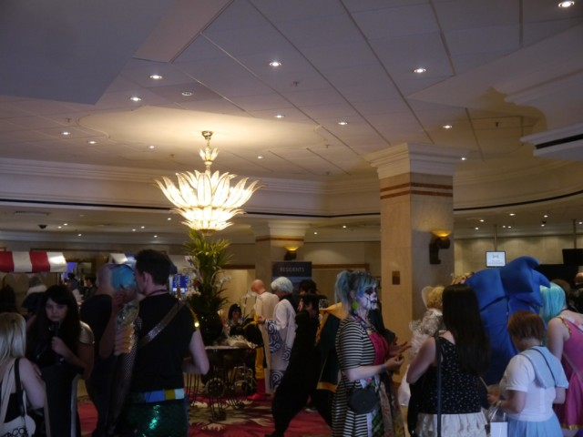 A sea of people at Kitacon
