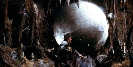 Image result for raiders of lost ark rolling ball
