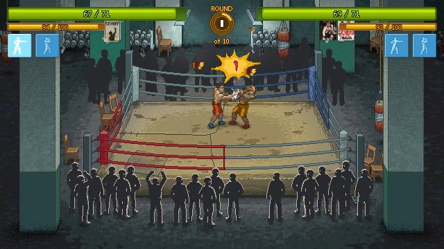 Punch Club - Fight in progress