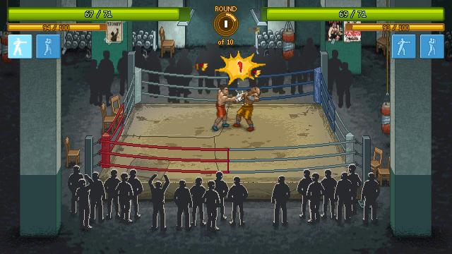 Punch Club - Fight in progress