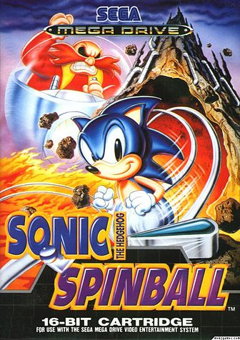 Sonic Spinball Video Game