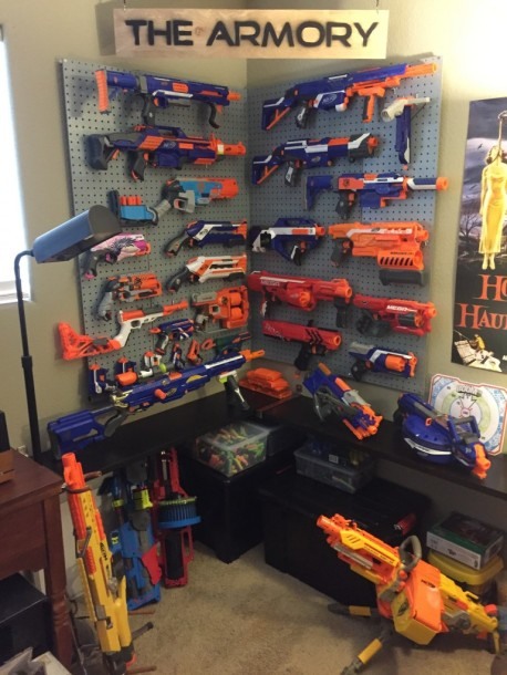 Ranging from one-shot pistols to belt-fed gatling guns, all the way to  grenade launchers and thrown projectile dart-bombs, the nerf range is more  than just ...