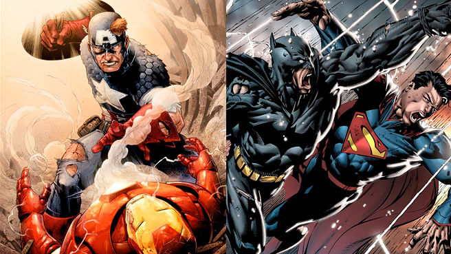 Versus Vs. Versus – Civil War and Dawn of Justice