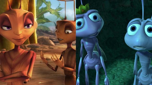 Antz vs. A Bugs Life |...