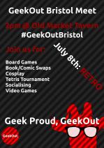 GeekOut Bristol Meet mini poster