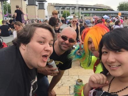 Bristol Pride: GeekOut Style