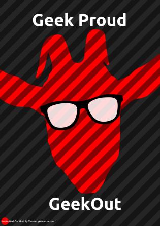 Gordon the GeekOut Goat